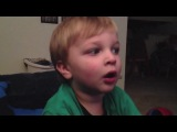 Youtube Challenge, детям родители говорят, что съели их конфеты